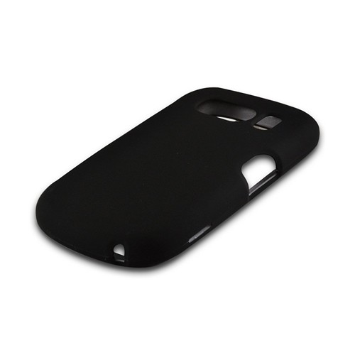 Black Rubberized Hard Case for ZTE Aspect F555