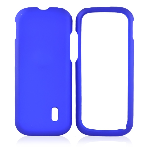 MetroPCS ZTE C76 Rubberized Hard Case - Blue