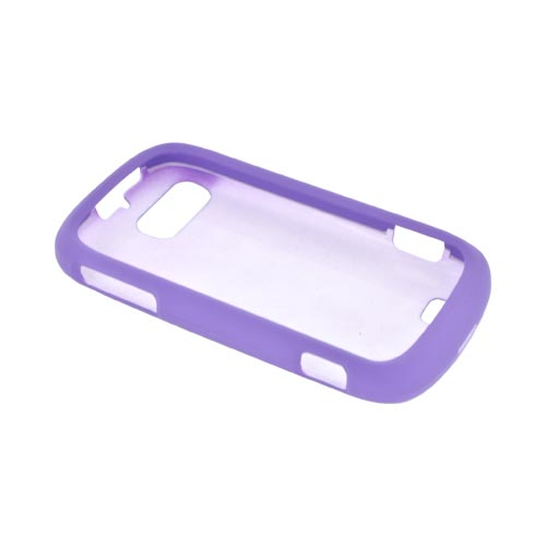 ZTE Fury N850 Rubberized Hard Case - Purple