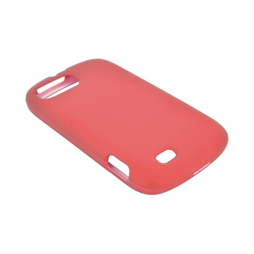 ZTE Fury N850 Rubberized Hard Case - Red