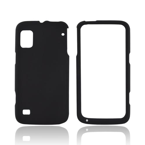 ZTE Warp Rubberized Hard Case - Black