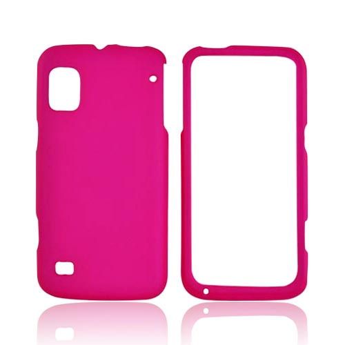ZTE Warp Rubberized Hard Case - Hot Pink