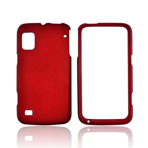 ZTE Warp Rubberized Hard Case - Red