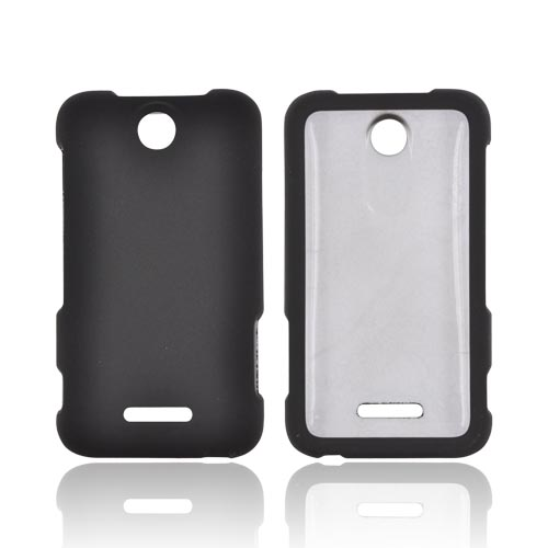 ZTE Score Rubberized Hard Case - Black