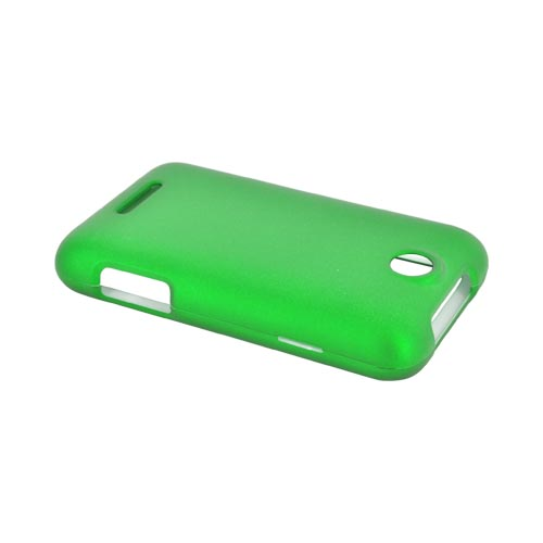 ZTE Score Rubberized Hard Case - Dark Green
