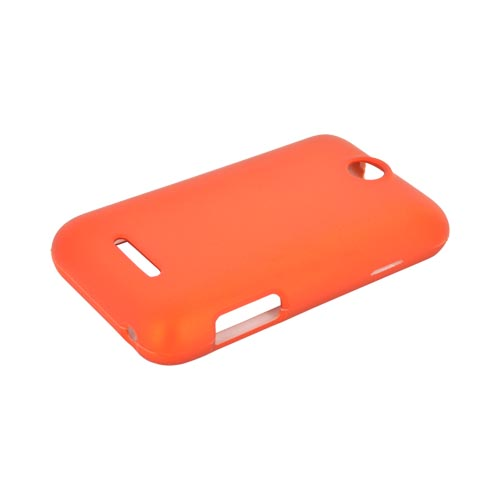 ZTE Score Rubberized Hard Case - Orange