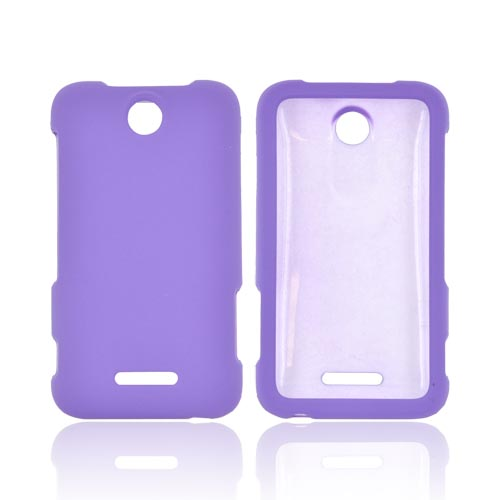 ZTE Score Rubberized Hard Case - Purple
