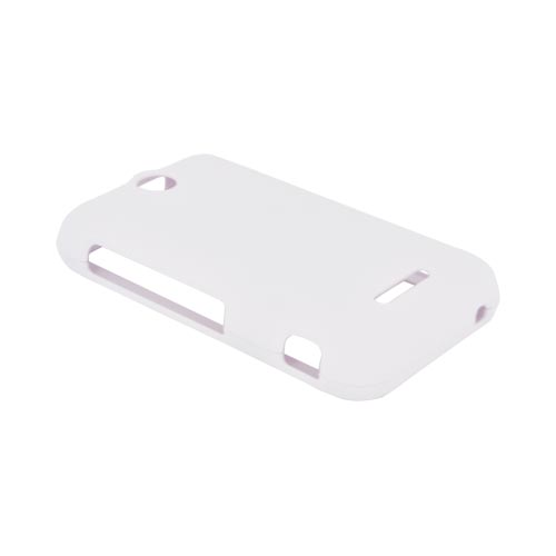 ZTE Score Rubberized Hard Case - White