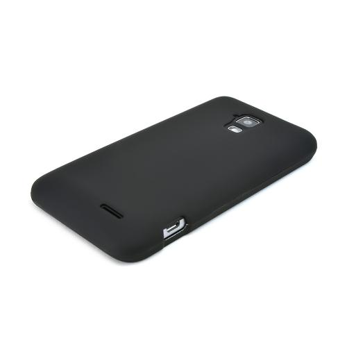 Black Rubberized Hard Case for AT&T Z998
