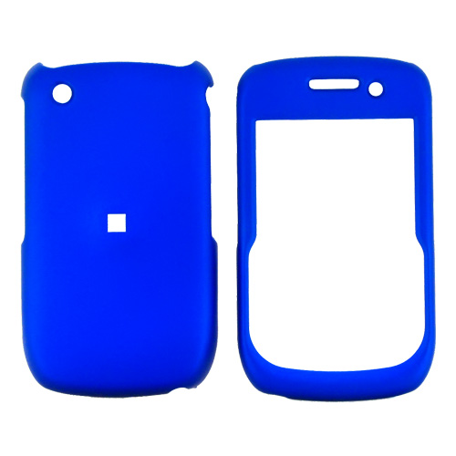 Blackberry Curve 3G 9330, 9300, 8520, 8530 Rubberized Hard Case - Blue