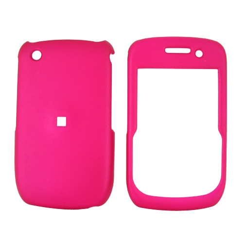 Blackberry Curve 3G 9330, 9300, 8520, 8530 Rubberized Hard Case - Hot Pink