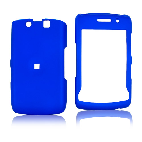 Blackberry Storm 2 9550 Rubberized Hard Case - Blue
