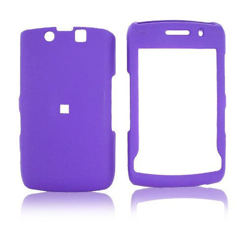 Blackberry Storm 2 9550 Rubberized Hard Case - Purple