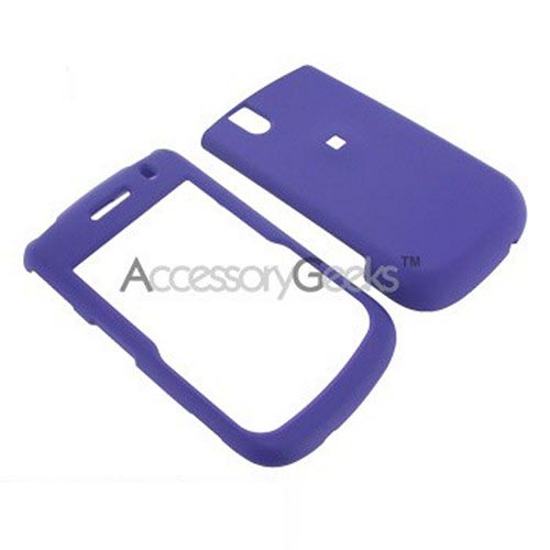 Blackberry Bold 9650 & Tour 9630 Rubberized Hard Case - Purple