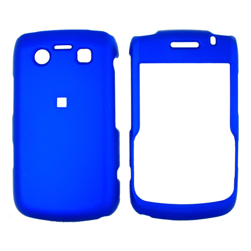 Blackberry Bold 9780 9700 Rubberized Hard Case - Blue