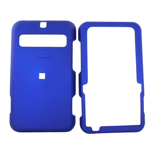 Cricket MSGM8 Rubberized Hard Case - Blue