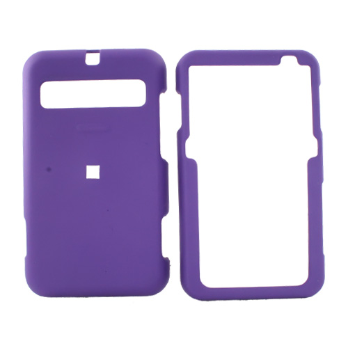 Cricket MSGM8 Rubberized Hard Case - Purple