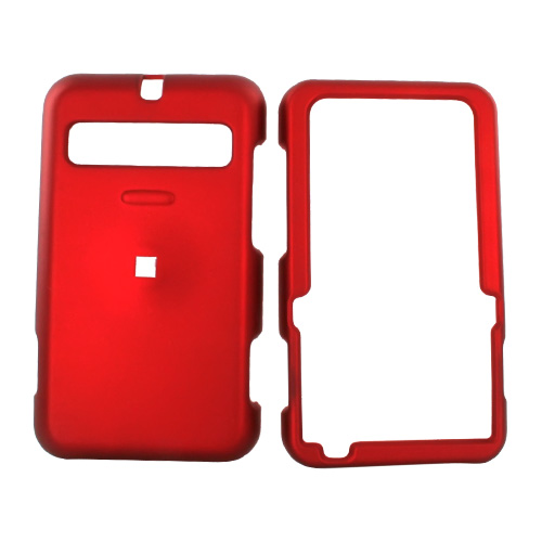 Cricket MSGM8 Rubberized Hard Case - Red
