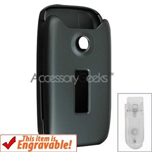 Sony Ericsson Z750 Rubberized Hard Case - Black