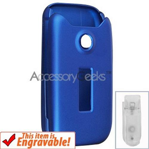 Sony Ericsson Z750 Rubberized Hard Case - Blue