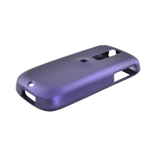 T-Mobile MyTouch 3G w/ 3.5mm Audio Jack Rubberized Hard Case - Purple
