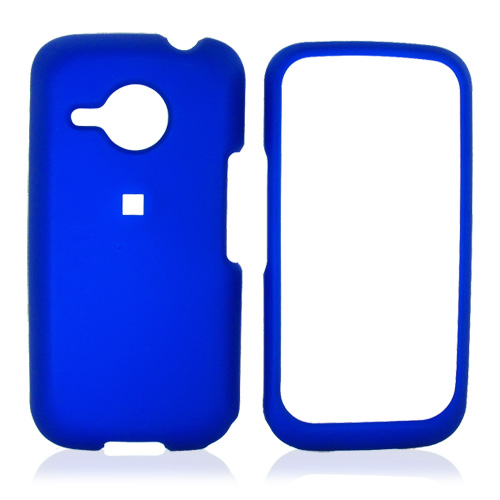 HTC Droid Eris S6200 Rubberized Hard Case - Blue