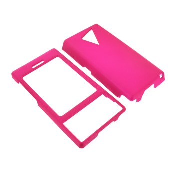 HTC Touch Diamond VX6950 Rubberized Hard Case - Hot Pink