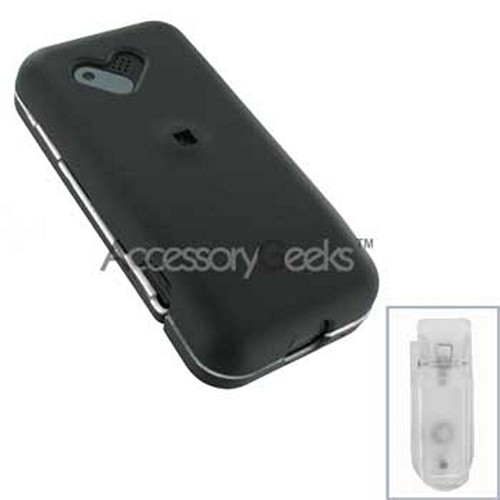 HTC Google G1 Rubberized Hard Case - Black