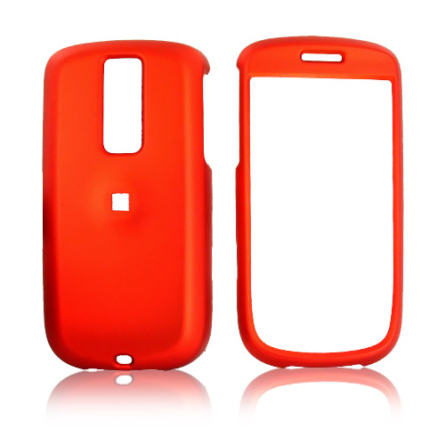 T-Mobile MyTouch 3G Rubberized Hard Case - Orange