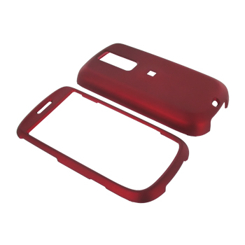T-Mobile MyTouch 3G Rubberized Hard Case - Red