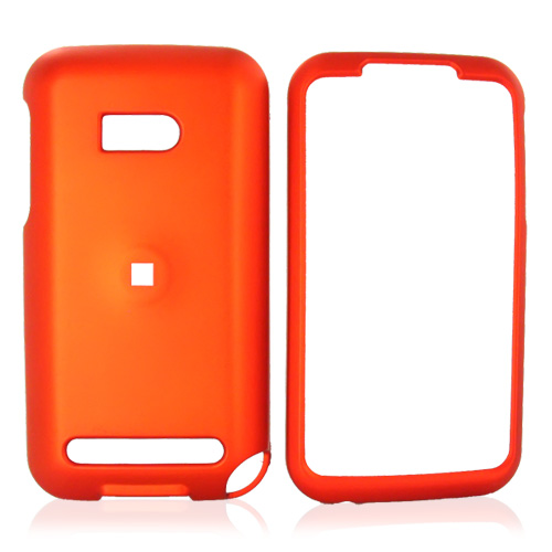 Verizon HTC Imagio Rubberized Hard Case - Orange