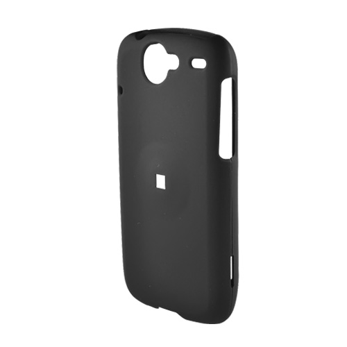 Google Nexus One Rubberized Hard Case - Black