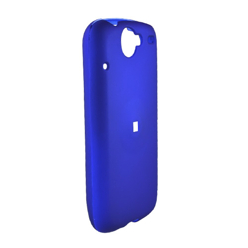 Google Nexus One Rubberized Hard Case - Blue