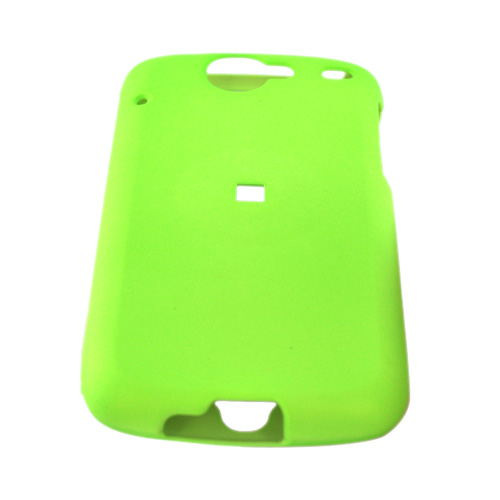 Google Nexus One Rubberized Hard Case - Neon Green