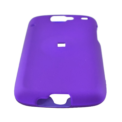 Google Nexus One Rubberized Hard Case - Purple