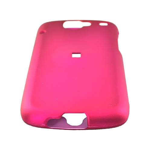 Google Nexus One Rubberized Hard Case - Rose Pink