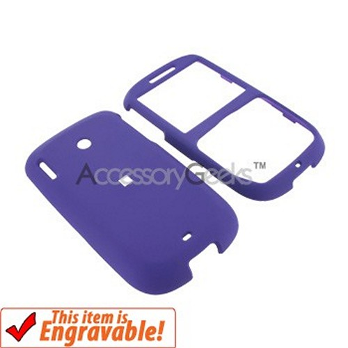 HTC Snap S511 Rubberized Hard Case - Purple