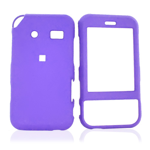 Huawei M750 Rubberized Hard Case - Purple