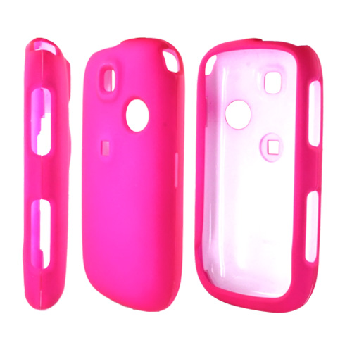 TMobile Tap Rubberized Hard Case - Hot Pink
