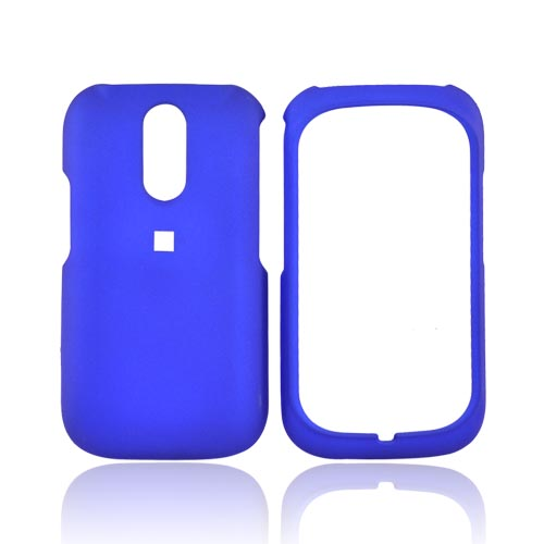 Kyocera Rio E3100 Rubberized Hard Case - Blue