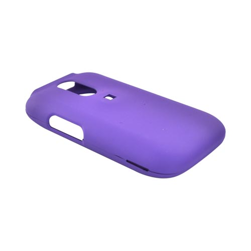 Kyocera Rio E3100 Rubberized Hard Case - Purple