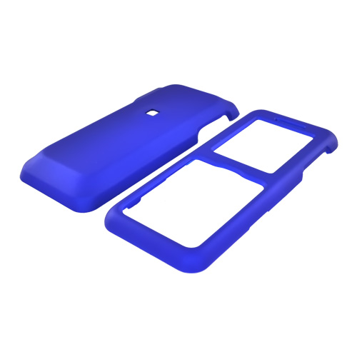 Kyocera Domino S1310 Rubberized Hard Case - Blue