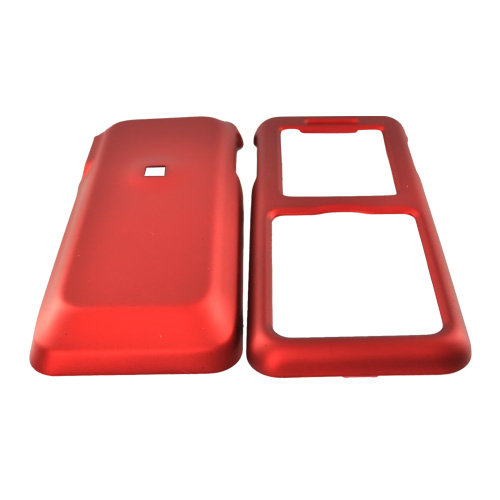 Kyocera Domino S1310 Rubberized Hard Case - Red