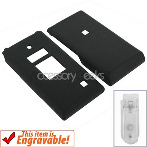 Kyocera Mako Rubberized Hard Case - Black