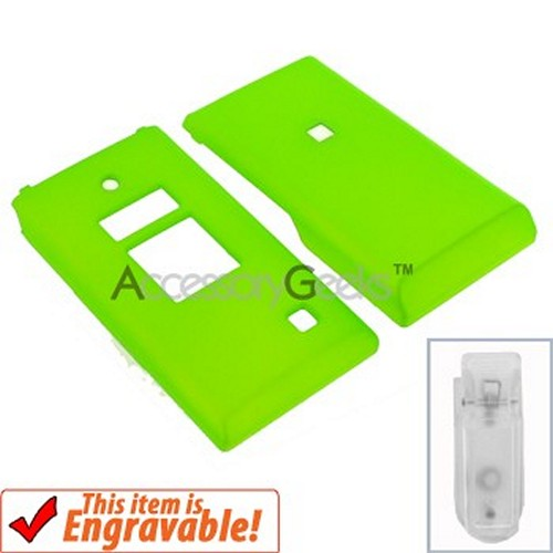 Kyocera Mako Rubberized Hard Case - Green