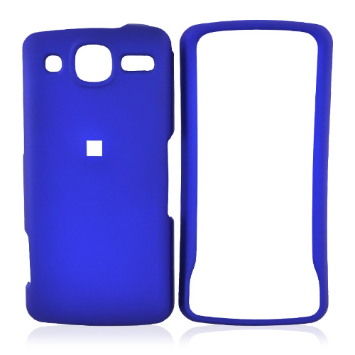 LG Expo GW820 Rubberized Hard Case - Blue