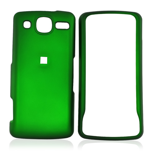 LG Expo GW820 Rubberized Hard Case - Green