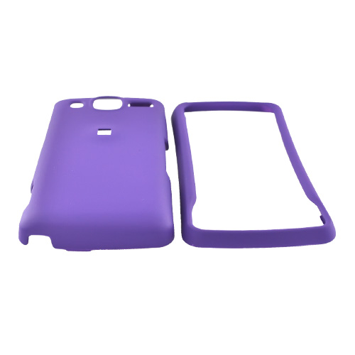 LG Expo GW820 Rubberized Hard Case - Purple