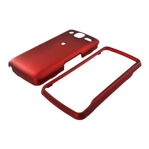 LG Expo GW820 Rubberized Hard Case - Red