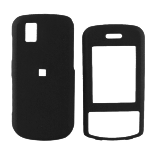 LG Shine II GD710 Rubberized Hard Case - Black